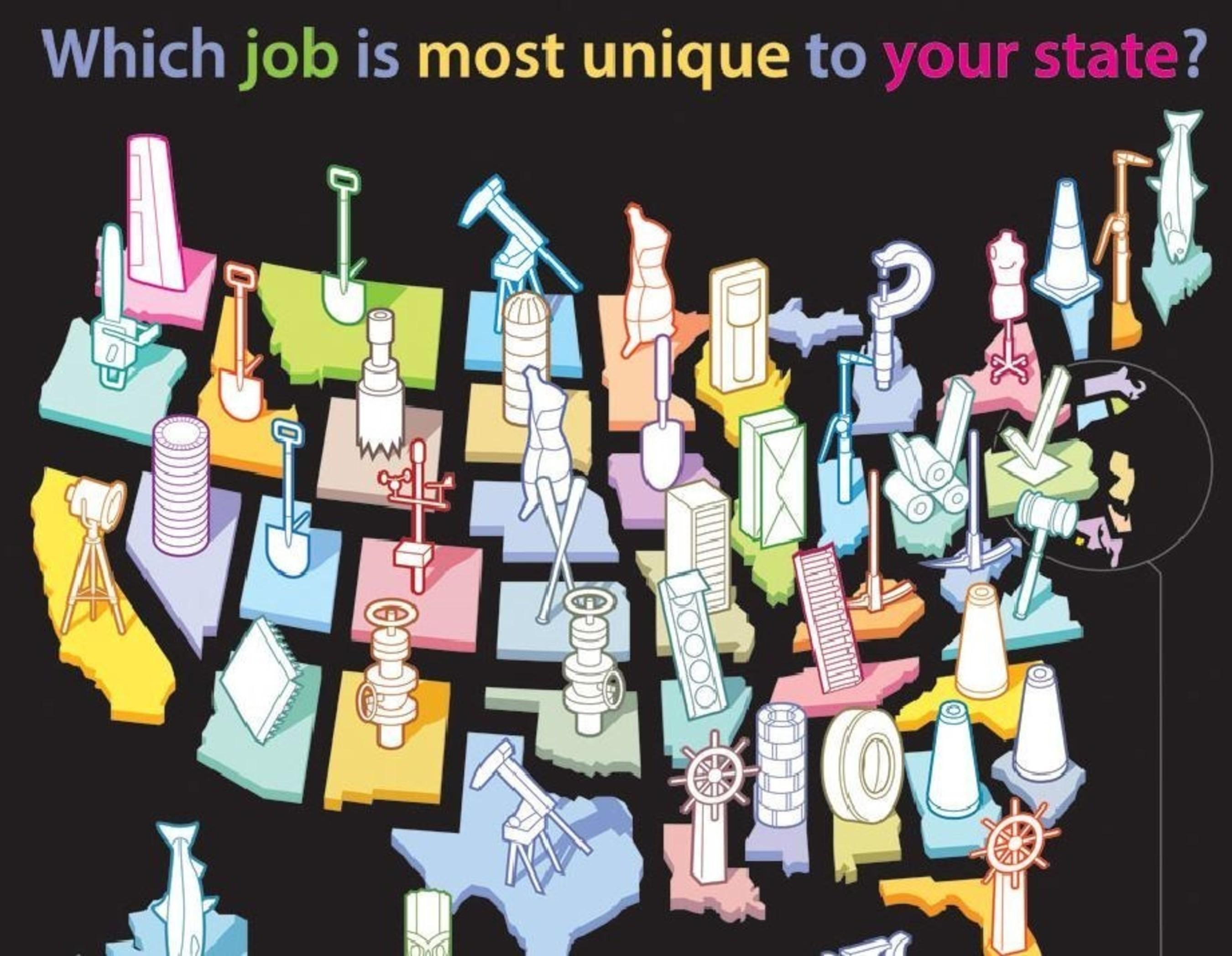 Infographic: www.mentalfloss.com/uniquejobs