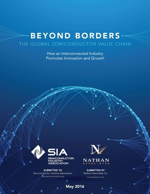 Beyond Borders -- The Global Semiconductor Value Chain: How an Interconnected Industry Promotes Innovation and Growth