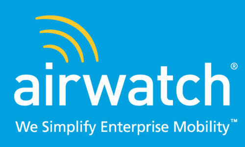 AirWatch Logo.  (PRNewsFoto/AirWatch)