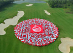 The world's largest QR Code.  (PRNewsFoto/Mission Hills China)