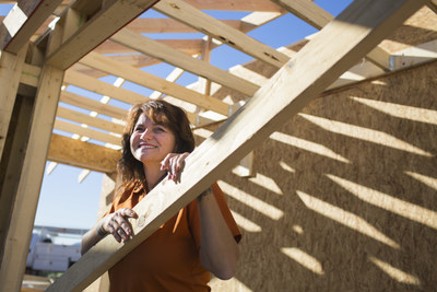 Small business owner and Allstate customer Ella Springfield owns Copper Sun Construction in Phoenix.