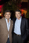 Marco Mattiacci, President & CEO, Ferrari North America with Rick Perry, Governor of Texas, at the Ferrari F12berlinetta auction to benefit The American Red Cross/Hurricane Sandy relief. (PRNewsFoto/Ferrari North America)