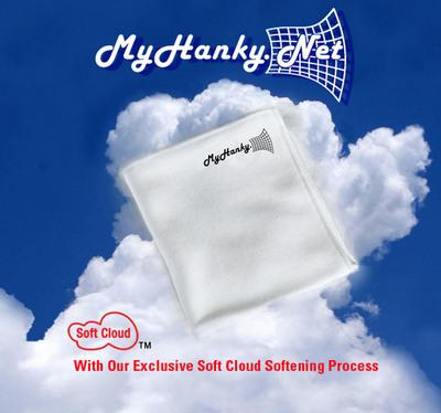 Flu epidemic has handkerchief maker working 24/7 to fulfill orders. Please visit MyHanky.Net.  (PRNewsFoto/My Hanky Inc.)