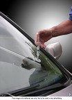 Motorists should perform routine maintenance before beginning a spring or summer road trip, such as fixing windshield nicks and restoring cloudy headlight lenses.  (PRNewsFoto/Permatex)