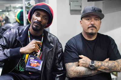 Snoop Dogg and Mister Cartoon Join Forces At Sanctiond(TM).  (PRNewsFoto/Sanctioned Automotive Group, LLC)