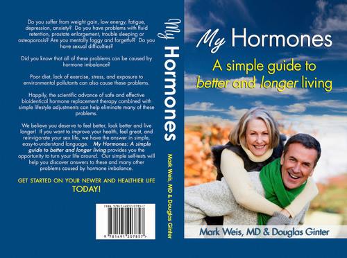 """My Hormones,"" Doug's First Book With Mark Weis, M.D. (PRNewsFoto/Douglas Ginter)"