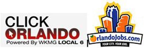 orlandojobs.com and clickorlando.com partner for jobs in Orlando.  (PRNewsFoto/OrlandoJobs.com)