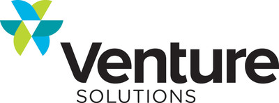 Transactional customer communications leader Venture Solutions launches new identity, representing the seamless integration of print, mail and e-channel services for a complete multichannel platform.  (PRNewsFoto/Venture Solutions Inc.)