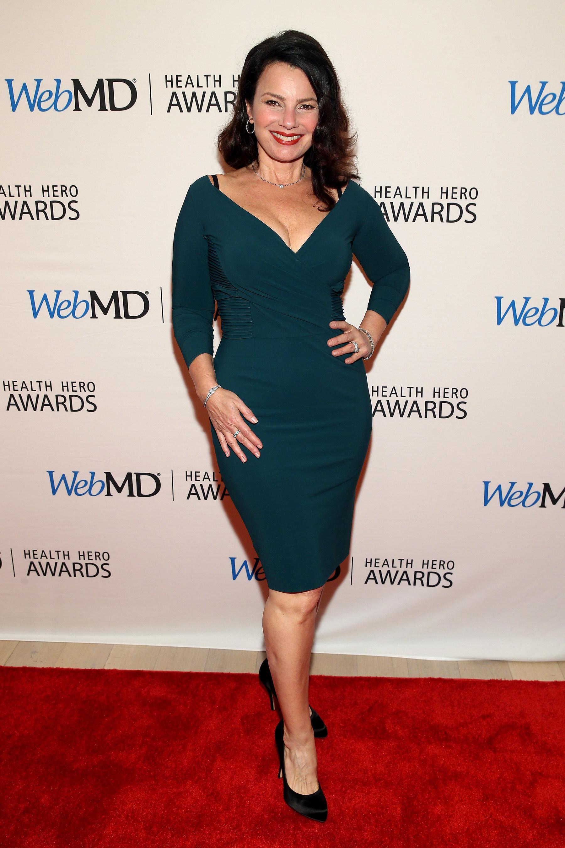 Fran Drescher Attends the WebMD Health Hero Awards Gala at TimesCenter on November 5, 2015