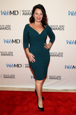 Fran Drescher Attends the WebMD Health Hero Awards Gala at TimesCenter on November 5, 2015