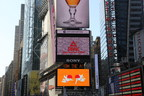 Peak gathers grass roots from China's 34 provinces to wish all a Happy New Year using local dialects in New York Times Square