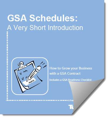 GSA Schedules - A new Ebook from TurboGSA.  (PRNewsFoto/TurboGSA)