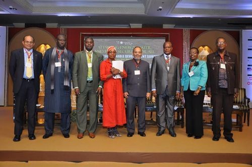 Participants attending the Energy, Water, and Food Security Challenge in Africa session on the second day of ...