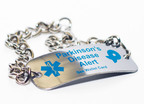 The National Parkinson Foundation's free Parkinson's disease medical ID bracelet.To order, visit www.parkinson.org/store or call 1-800-4PD-INFO (473-4636).  (PRNewsFoto/National Parkinson Foundation)