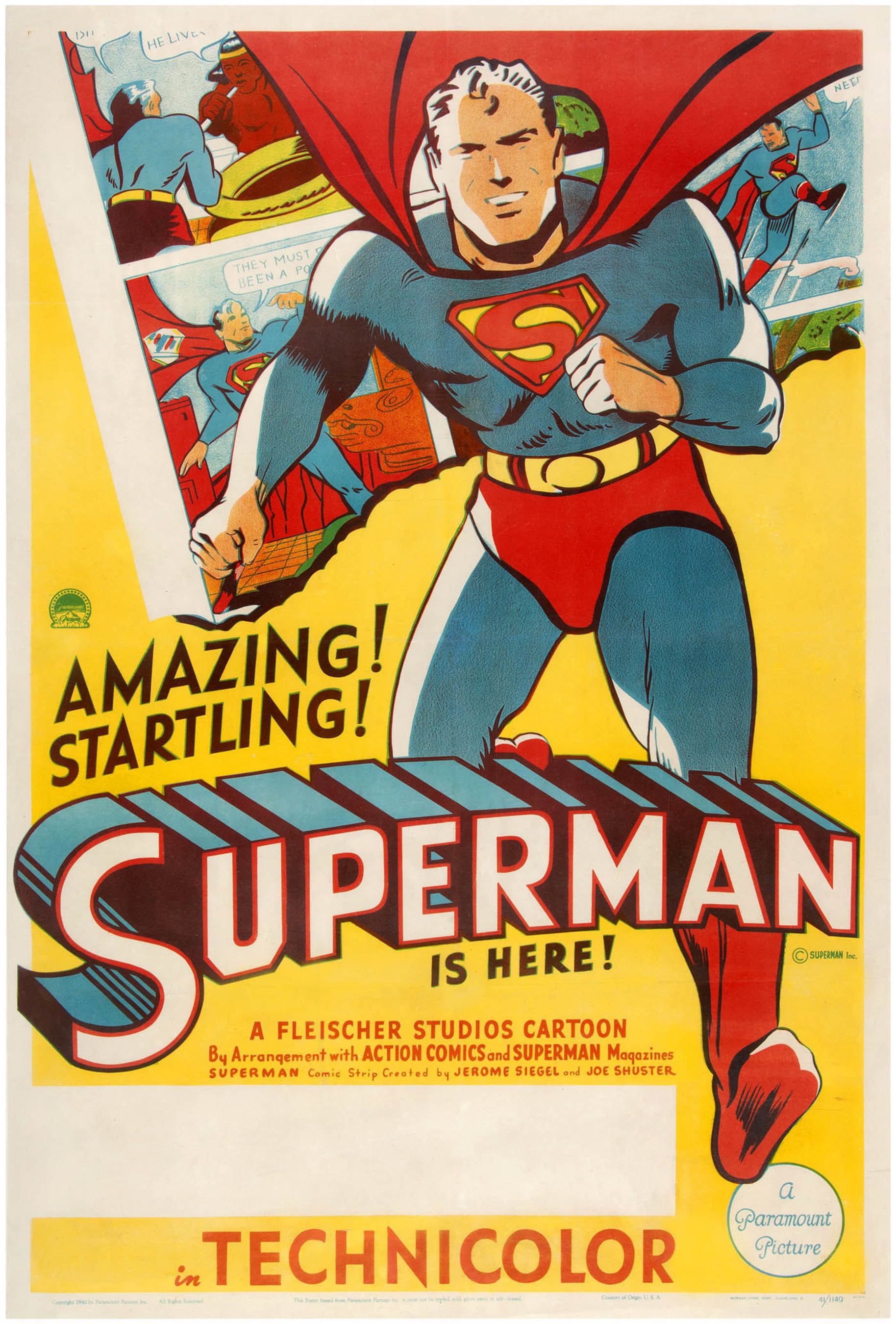 Superheroes -- Real And Imagined -- Headline Hake's July 14-16 Auction Of Pop Culture, Historical And Sports Memorabilia