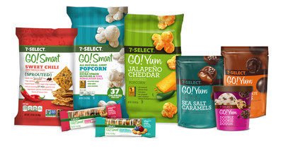 Inspired by customer feedback, 7-Eleven 7-Select GO!Yum(TM) and 7-Select GO!Smart(TM) satisfy consumer requests for variety in both indulgent and better-for-you products.