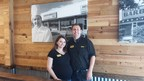 Brandon and Brandi Kosek, owner/operators of the new Dickey's Barbecue Pit in Council Bluffs.