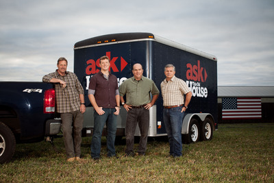 ASK THIS OLD HOUSE will go anywhere and tackle any home improvement project.  Premiering on Thursday, October 3 on PBS -- Check local listings.  (PRNewsFoto/ASK THIS OLD HOUSE)