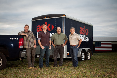 ASK THIS OLD HOUSE will go anywhere and tackle any home improvement project.  Premiering on Thursday, October 3  ...