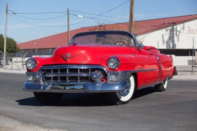 1953 Cadillac Eldorado Convertible (Lot S125) Photo Courtesy of Mecum Auctions