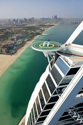 Burj Al Arab Unveils its Wedding in the Skies, 212 Metres Above the Arabian Gulf (PRNewsFoto/Burj Al Arab)