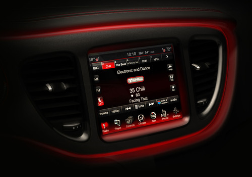 CHRYSLER GROUP LLC 2013 DODGE DART INTERIOR