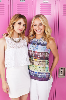 Emma Roberts and Hayden Panettiere kick-off Neutrogena(R) Wave for Change(R), a philanthropic initiative that supports U.S. educational charities.  (PRNewsFoto/Neutrogena)