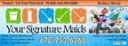 Maid Service in Lawrenceville, GA. Call Your Signature Maids at 678-753-6268 Today! (PRNewsFoto/Your Signature Maids)