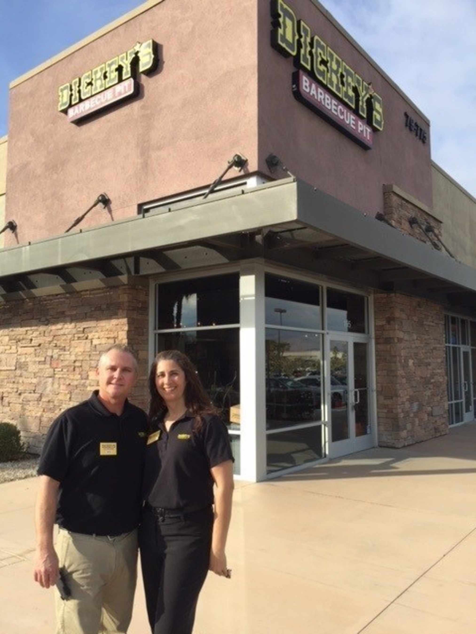 Michael and Margarita Tucker own and operate Dickey's Barbecue Pit in La Quinta, and plan to expand to twelve locations in California.