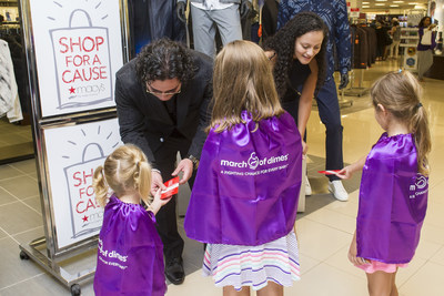 At the Atlanta Macy's three superhero children came out to support Macy's Shop for A Cause, a three-day shopping event, held August 26-28 across the country. Superheroes came in all shapes, sizes and ages and helped raise more than $3 million dollars for the March of Dimes mission to give every baby a fighting chance. (John Amis/AP Images for Macy's)