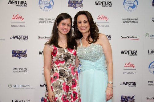 Nicole Reichenbach and DDF President and Founder, Debbie Zelman, at the 2014 Debbie's Dream Foundation: Curing Stomach Cancer Dream Makers Gala (PRNewsFoto/Debbie's Dream Foundation)