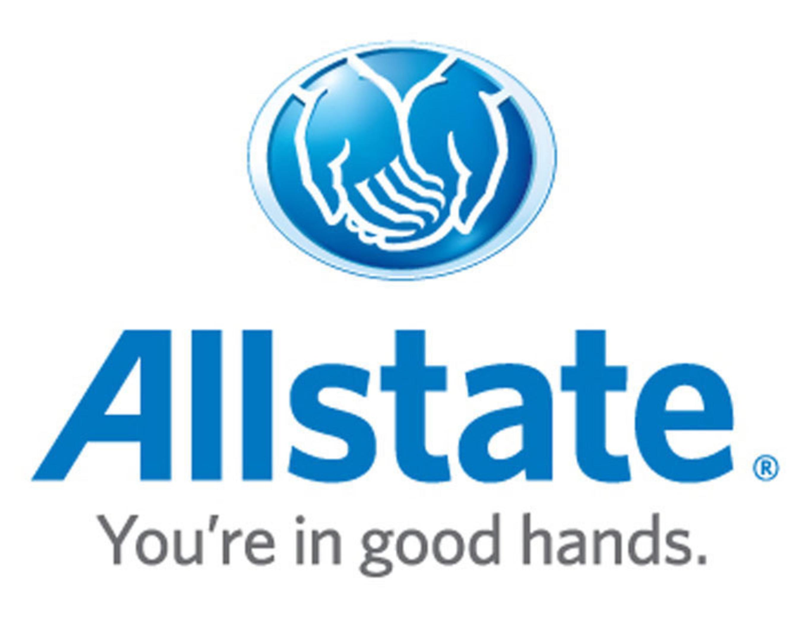 Allstate logo.