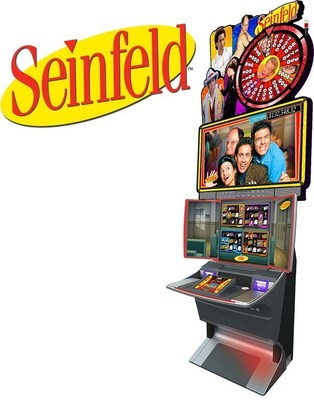 """Scientific Games, in partnership with Warner Bros. Consumer Products, introduces SEINFELD slot game based on the 10-time Emmy Award-winning American sitcom that ran for nine seasons from 1989-1998. Since the final season aired, SEINFELD remains a fan favorite, holding the title of highest-grossing and fastest-selling television DVD of all time. The technologically advanced game boasts motion gesture technology, which enables players to use their hand to become a part of the game. During the """"Big Wins"""" celebration, the motion gesture technology enables the player to see the enormous Man-Hands of Jerry's infamous date """"catching"""" black-and-white cookies, oversized wallets, books and other favorite Seinfeld items."""