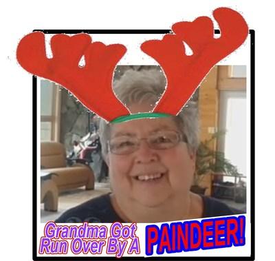 Grandma got run over by a Paindeer!