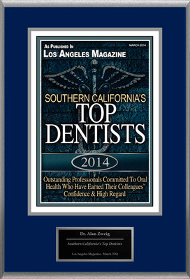 "Alan Zweig Selected For ""Southern California's Top Dentists"""