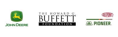 The Howard G. Buffett Foundation, John Deere, and DuPont Pioneer announce collaboration to support smallholders and sustainable farming in Africa.  (PRNewsFoto/The Howard G. Buffett Foundation)