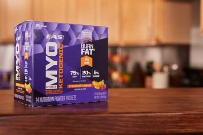 Fueling Performance with Fat: EAS(R) Launches First Ketogenic Meal Replacement For Athletes