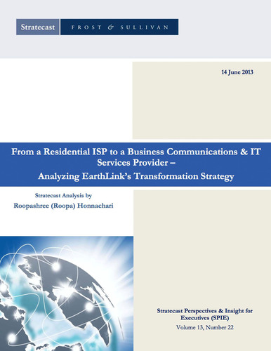 Frost & Sullivan Issues Positive Report on EarthLink's IT Services Transformation