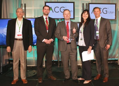 Vista Outdoor Stephen Nolan Accepts ACG Dealmaker of the Year Award