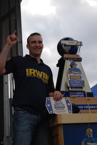 IRWIN Tools Crowns Daniel Shepherd 'World's Ultimate Tradesman'