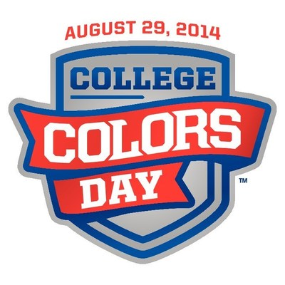 Wear your college colors on August 29, 2014 (PRNewsFoto/The Collegiate Licensing Company)