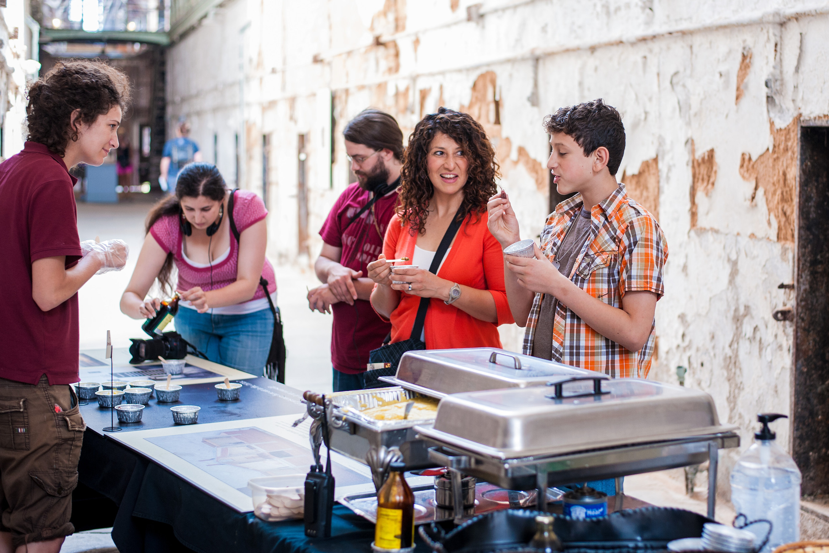 Eastern State Penitentiary Hosts Prison Food Weekend on Saturday and Sunday, June 6 and 7