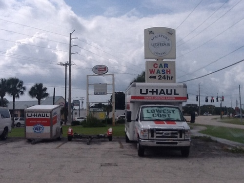 Spaceport Amoco Launches Its Business to New Heights Thanks to U-Haul (PRNewsFoto/U-Haul)