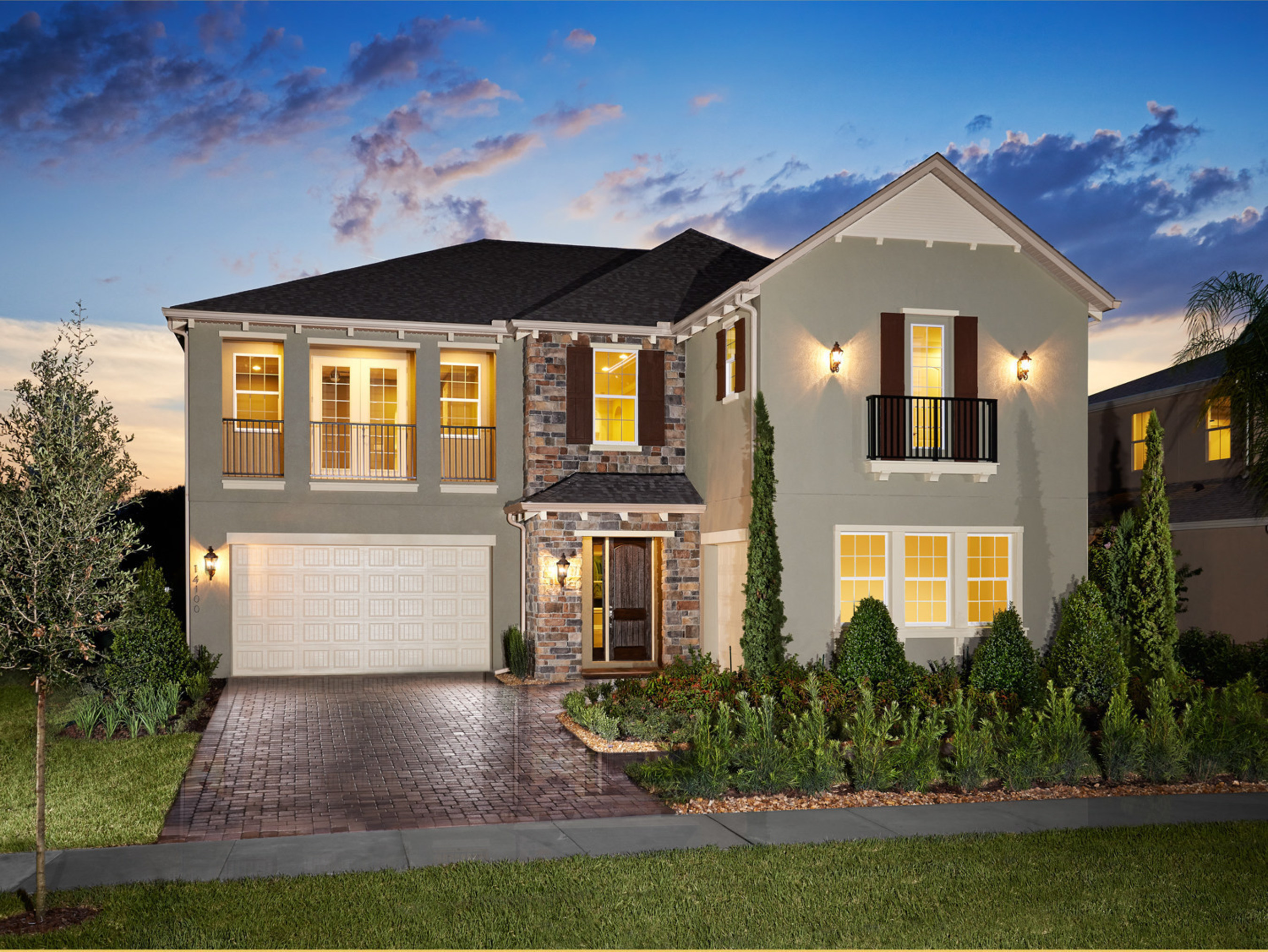 Standard pacific homes debuts new homes in winter garden for Standard homes plans