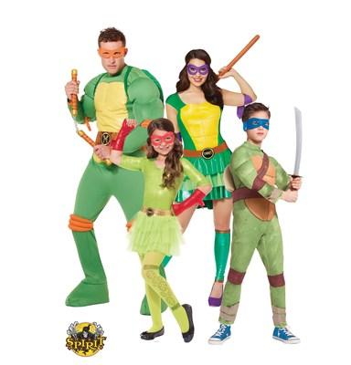 Spirit Halloween, North America's Largest Seasonal Halloween Retailer, Announces 2015 Top Costumes; Including Star Wars, Descendants, Teenage Mutant Ninja Turtles and More