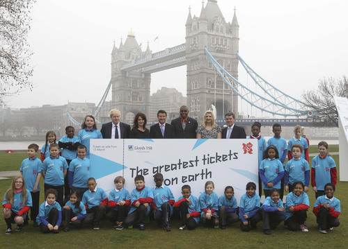 One Million Tickets to London 2012 Olympics Reserved for Fans Outside the U.K. and E.U.
