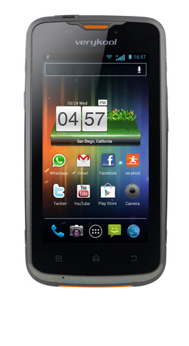 The verykool RS90 Vortex Smartphone is powered by a 1.2 GHz dual core processor and Android 4.0 operating ...