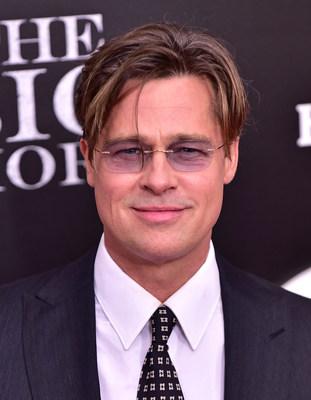 Brad Pitt in Silhouette