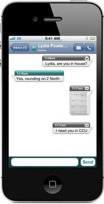 Cortext iPhone.