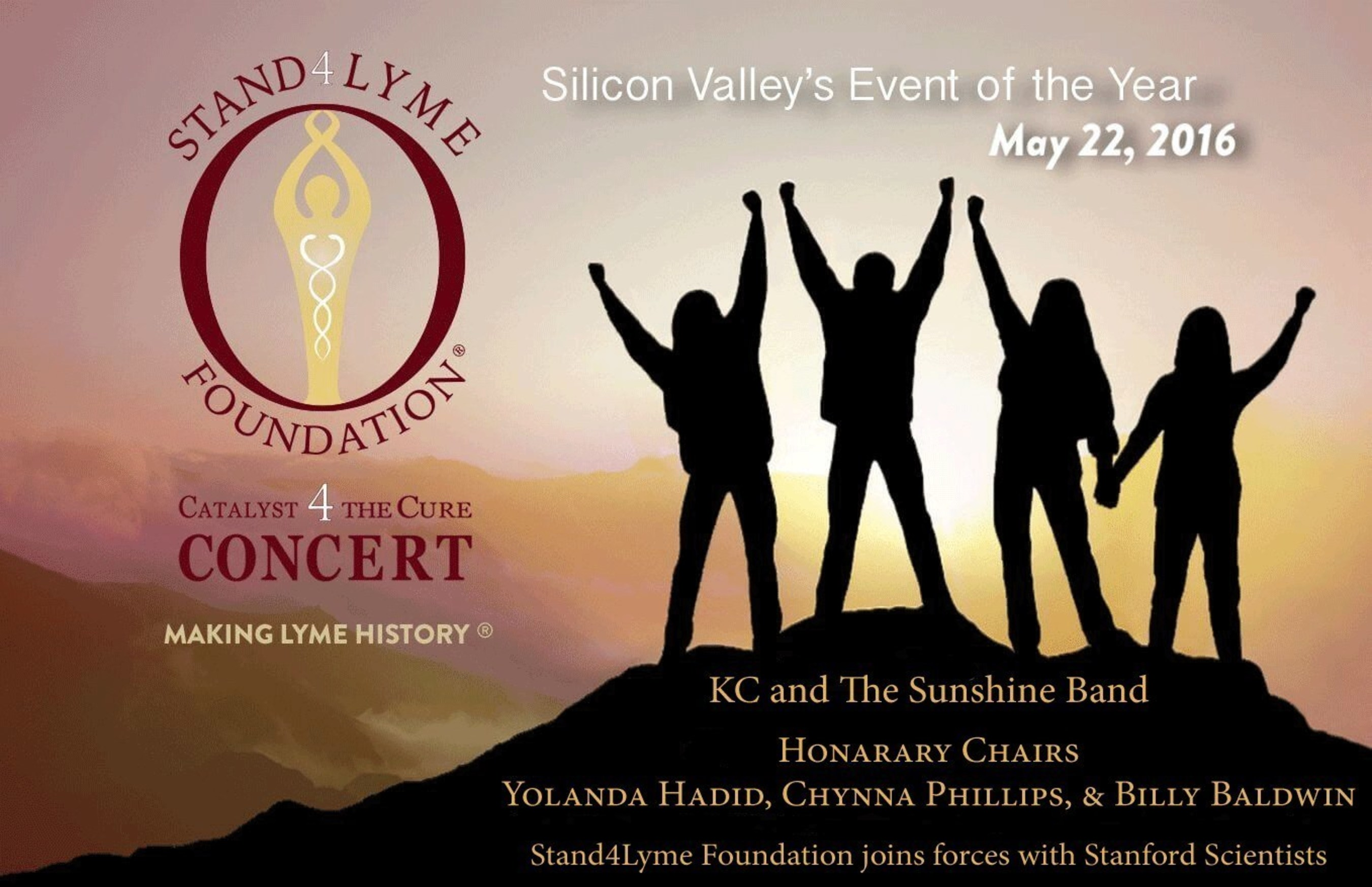 Stand4Lyme's Catalyst 4 The Cure concert